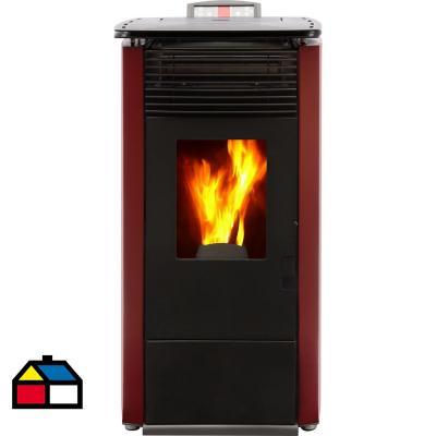 Calefactor pellet 8kw albtrot