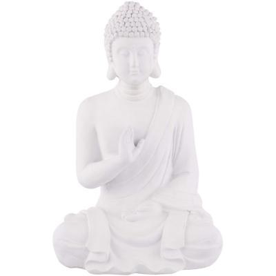 Buda Sentado Blanco 41Cm