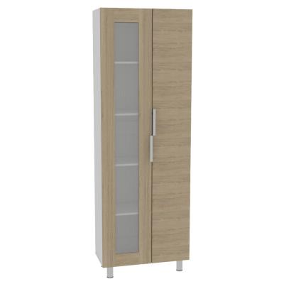 Despensa 70x35,8x205 cm Oak/blanco