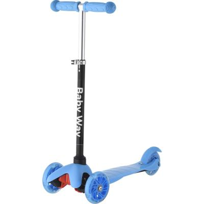 Scooter con luces azul