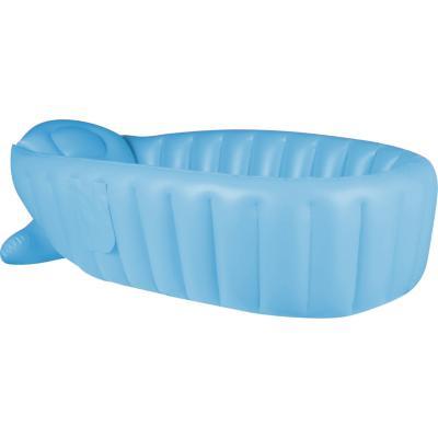 Tina de baño ergonómica azul