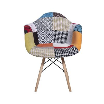 Sitial eames patchwork naranjo