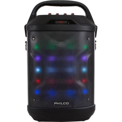 Parlante karaoke bluetooth led