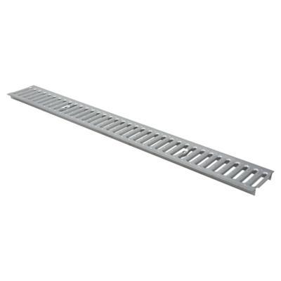 Rejilla peatonal acero galvanizado 1 m