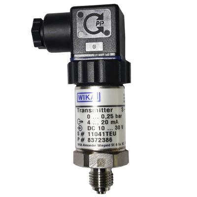 Transmisor de presión 1/4 BSP de 0 a 0,25 bar