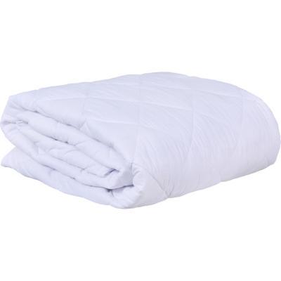 Cubrecolchón ajustable 1,5 plazas blanco