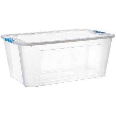 Caja ultraforte transparente 46 l