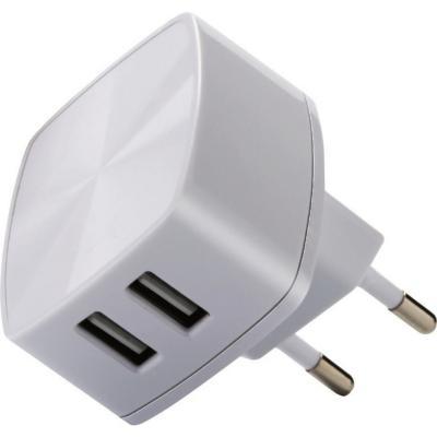 Cargador 220 v rápido doble USB 3,1a