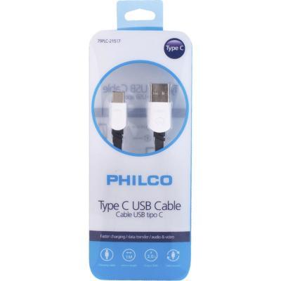 Cable de carga rapida tipo C 1 m