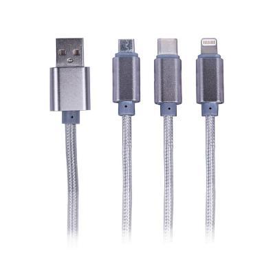 Cable de carga 3 x 1 micro -C- iphone