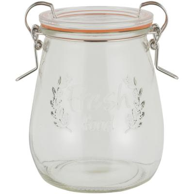 Canister hermético 500 ml vidrio