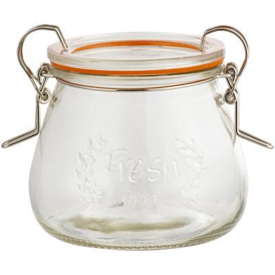 Canister hermético 400 ml vidrio
