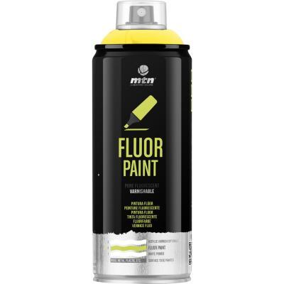 Spray pro amarillo fluorescente