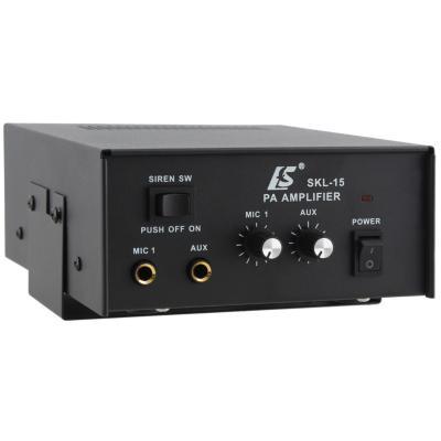 Amplificador 15W Monofásico