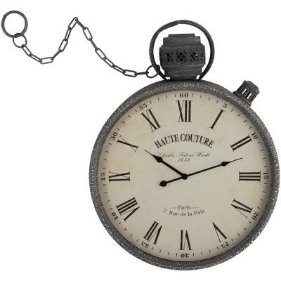 Reloj muro con cadena 50x66 cm