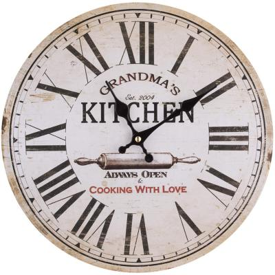 Reloj redondo cocina 33 cm Kitchen
