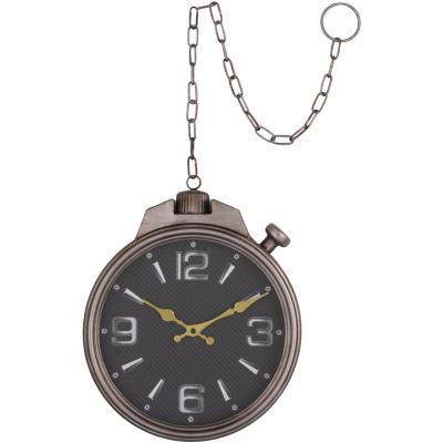 Reloj muro con cadena 30x36,5 cm