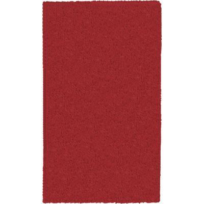 Alfombra yagan 133x180 cm rojo
