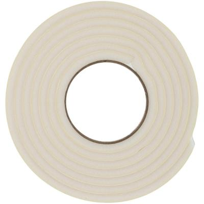 Burlete espuma goma blanco 9,5 mm x 7,9 mm