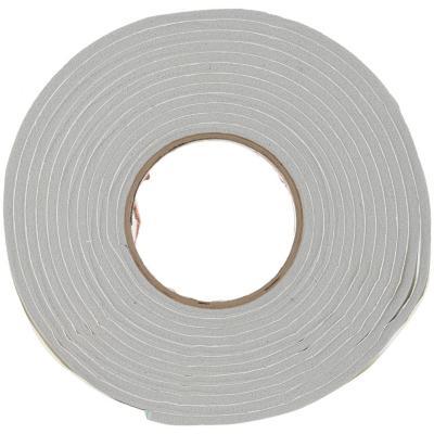 Burlete espuma vinílica gris 9,5 mm x 4,8 mm
