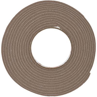 Burlete espuma vinílica marrón 9,5 mm x 4,8 mm