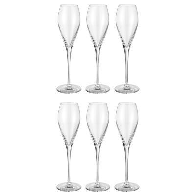 Set 6 copas de vidrio 225 cc