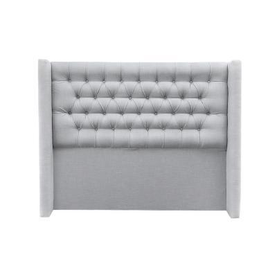Respaldo 190x8x145 cm gris plata