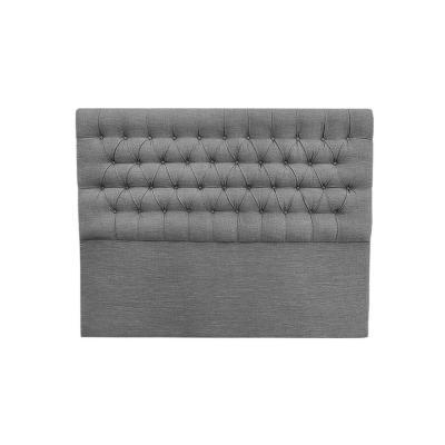 Respaldo 180x8x145 cm gris plata