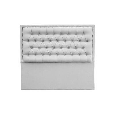 Respaldo 150x8x145 cm gris plata