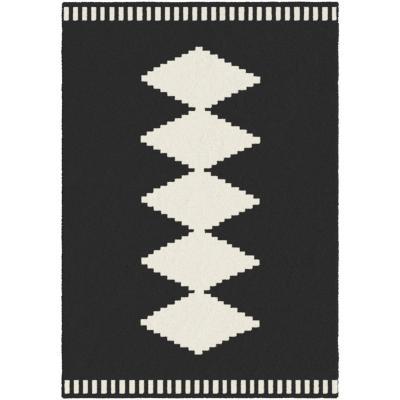 Alfombra Alaska 160x230 cm negro