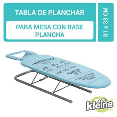Tabla planchar de mesa con apoya plancha 81x33 cm