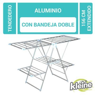 Tendedero pro aluminio doble 156x61x97 cm