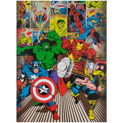 Canvas marvel heroes 60x80 cm