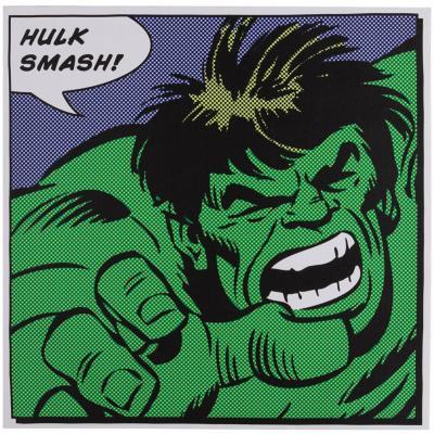 Canvas hulk frase 40x40 cm