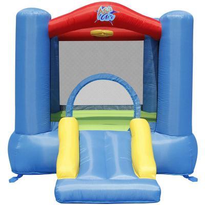 Castillo inflable pequeño + aro de basquetball 260x210x165 cm