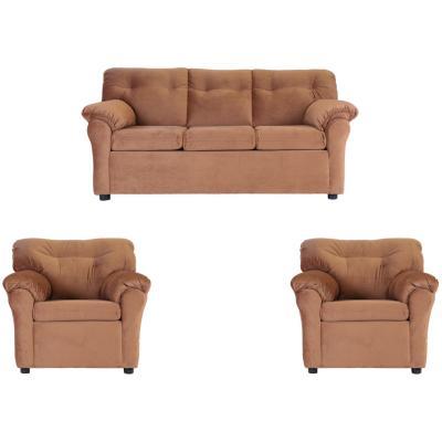 Juego de living sofá  3 cuerpos + 2 sillones