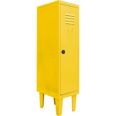 Locker kids 1 puerta 31x40x120 cm amarillo