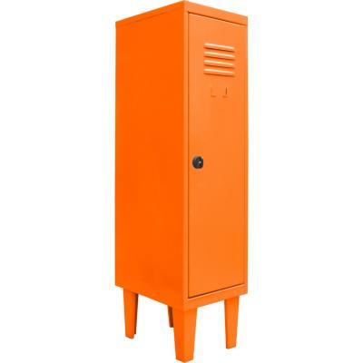 Locker kids 1 puerta 31x40x120 cm naranjo