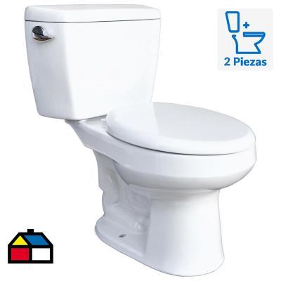 Toilet 6 litros blanco