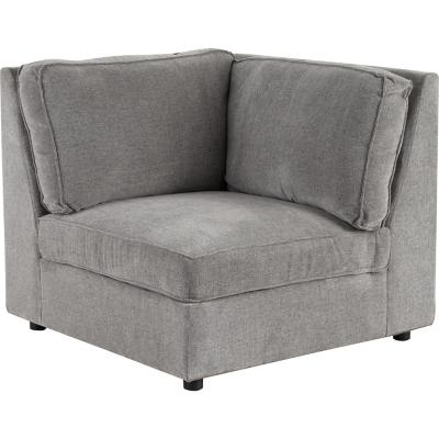 Seccional 158x100x90 cm gris