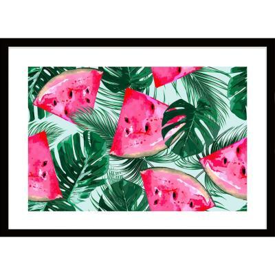 Cuadro Watermelon Plants 70x50 cm