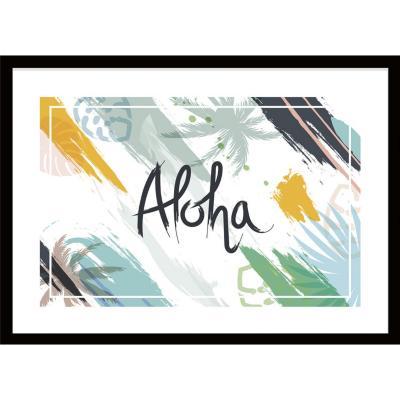 Cuadro Aloha 70x50 cm