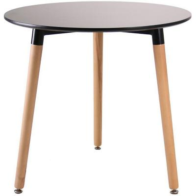 Mesa madera 36,5x36,5x75 cm Blanca