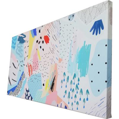 Canvas Flowers II 90x45 cm