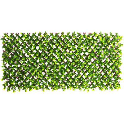 Cerco extensible con flores 100x200 cm