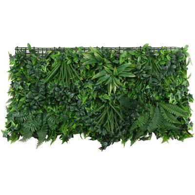 Jardín vertical plantas tropicales 50x100 cm