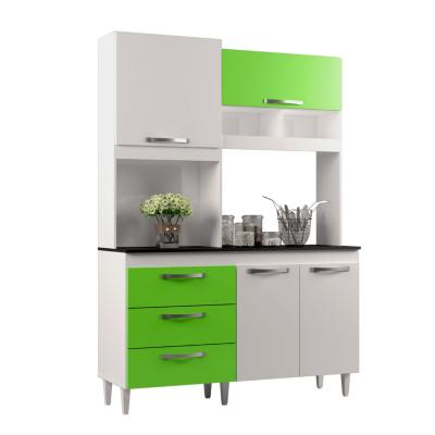 Kit de cocina pilar blanco/verde