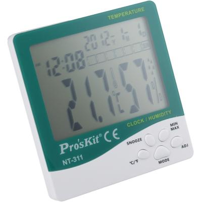 Termómetro / Higrómetro / Reloj