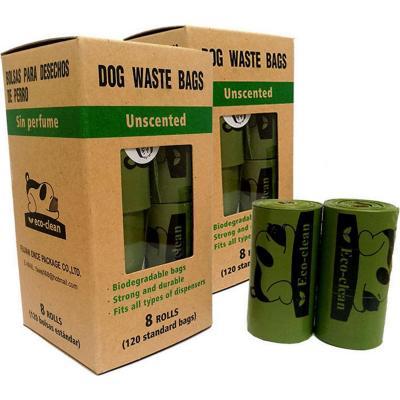 Bolsas sanitarias para perros 8rollos/120 unidades Biodegradables