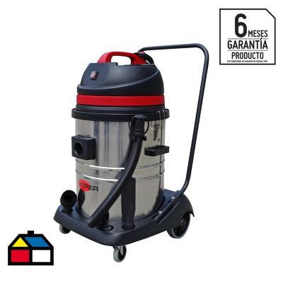 Aspiradora seco/húmedo eléctrica 1000 W 55 litros